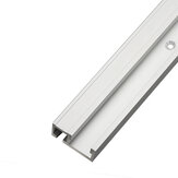 Wnew Aluminum Alloy 45 Type T-slot T-track Miter Track Jig Fixture Slot 45x12.8mm For Table Saw Router Table Woodworking Tool