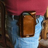 メンズEDC 6.3 ''インチ本革電話バッグケースベルトバッグ