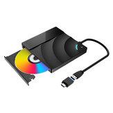 BlitzWolf®BW-VD2 Внешний Blu-Ray DVD-привод 3D 4K-плеер USB3.0 + Порты Type-C для WIN / MAC