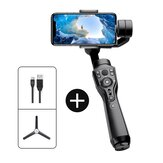 Smart S1 3-Axis Handheld Gimbal Stabilizer Monopod Selfie for iPhone 11 XR XS for Samsung Action Cameras