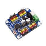 16 Canal PWM Placa Controladora de Controlador de Servo Motor TTL Módulo Bluetooth PCB para Robô