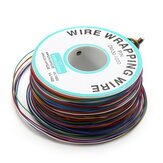 200m 0.55mm 8 Color Circuit Board Single-Core Tinned Copper Wire Jumper Cable Dupont Wire