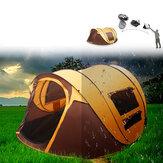 Automatische kampeertent voor 5-8 personen Waterdicht UV Bescherming Zonnescherm Luifel Outdoor Travel Beach