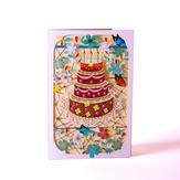 3D Vintage creatieve wenskaarten verjaardag cadeau decoratie kaart wenskaart