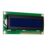 10Pcs 1602 Character LCD Display Module Blue Backlight Geekcreit for Arduino - products that work with official Arduino boards