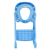 Baby Toddler Toilet Trainer Potty with Adjustable Ladder Safety Seat Chair Step