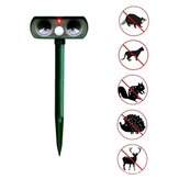 Outdoor Ultrasonic Pest Animal Repeller For Yard Garden House Cat Dog