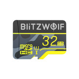 BlitzWolf®BW-TF3-geheugenkaart met adapter C10 U3 Micro SD-kaart 64GB Smart Card TF-kaart 32/64/128/256 GB voor camera UAV-recorder