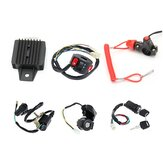 50cc 70cc 110cc 125cc Wiring Harness Loom Solenoid Coil Rectifier CDI For ATV Quad Bike Go Kart