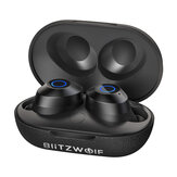 BlitzWolf® BW-FYE5 TWS Bluetooth V5.0 Kopfhörer Mini True Wireless Bilateral Call Stereo Kopfhörer mit Ladebox