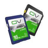 OV X-Rate C10 U1 16GB Speicherkarte für DSLR-Kamera Fotografie Unterstützung 1080P 30FPS Videoaufnahme