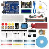 Geekcreit® Starter Kit voor Arduino UNO R3 ATmega328P met 15 lessen Tutorial Compatibel met Arduino IDE Mixly voor beginners