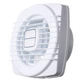 4 Inch 12W Mini Exhaust Fan Entilation Blower Hand Pull for Window Wall Kitchen Bathroom Toilet