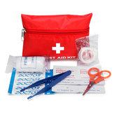 8個ポータブル応急処置キット車の緊急旅行バッグ