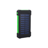 Solar Power Bank 900000mAh Portable Waterproof Solar Charger with LED Light