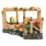 古代ローマ遺跡の装飾人形ハウス装飾ギフトおもちゃ23 * 16 * 12.5cm