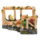 Ancient Roman Ruins Ornament Dollhouse Decoration Gift Toys 23 * 16 * 12.5cm