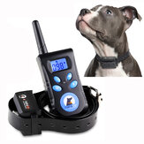 PaiPaitek PD 520C-1-TIO 2 in1 Beep Shock Vibration Anti Barking Collar Remote Dog Pet Training Collar - Black
