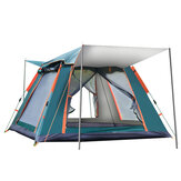 Original              IPRee® 6-7 People Fully Automatic Tent Silver Glue Rainproof Windproof Outdoor Camping Family Picnic Travel Tent