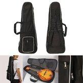 1pcs Black Mandolin Gig Carry Case Tas voor Mandolin Music Player