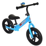 2 Wheels No Pedal Toddler Balance Bike Kids Training Walker bmx Bike Adjustable Height 89-129cm for 2-6 Years Old Boys&Girls