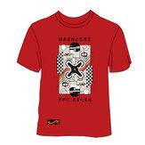 TCMMRC L / 2XL / 3XL / 5XL Camiseta vermelha dos desenhos animados para FPV Racing Drone
