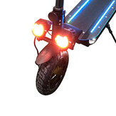 BIKIGHT 1 Pair Electric Scooter Light with Double Headlights High Brightness Night light Electric Scooter Accessories For ESWING ESM8