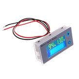 JS-C33 10-100V Universel LCD Voiture Acide Plomb Lithium Batterie Indicateur De Capacité Numérique Voltmètre Testeur De Tension Moniteur Compteur