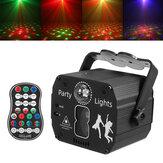 8-Typ Mini Laser Bühnenlicht Party Projektor Lichter Disco Lichter mit Fernbedienung