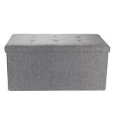 Ágynemű tárolására oszmán összecsukható ülés széklet pad mellkas játék doboz puffa pad