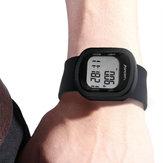 ElektronischePedometerSmartWatch3DPedometer Armband siliconenband Sporthorloge