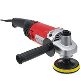 1400W WET Polisher Angle Grinder Diamond Polishing Machine Grit Pads Concrete Marble Granite