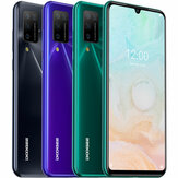 DOOGEE N20 Pro Global Version 6,3 tommer FHD + Waterdrop Display Android 10 4400mAh 16MP Quad Rear Camera 6GB 128GB Helio P60 Octa Core 4G Smartphone
