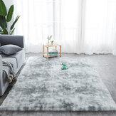 Bakeey Seidenwolle Tie-Dye Teppich Wohnzimmer Arbeitszimmer Schlafzimmer Teppich