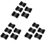 15pcs 34 * 12 * 25 Plum Blossom Radiator dissipador de calor para TO-220 Pacote YV25 dedicado