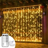 ARILUX® 3*3M USB Window Curtain Icicle String Light with Timer Mode for Outdoor Christmas Home Decor