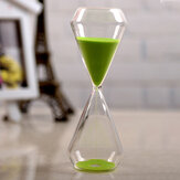 AUGIENB 30Mins Sand Timer Timglas Skrivbord Toy Fun Office Presentations Magentic Clock Decorations