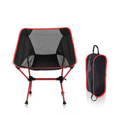Folding Chair Portable Aluminum Moon Chair Leisure Folding Chair Outdoor Beach  Outdoor Fishing Camping Barbecue Picnic Beach Load 150kg