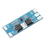 5pcs 2S 7.4V 8A Peak Current 15A 18650 Lithium Battery Protection Board With Over-Charge Discharge Protection Function