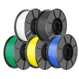 SIMAX3D® 5 Rolls Pack 1.75mm PLA Filament 1KG Filament Set for 3D Printers
