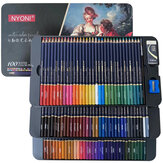 NYONI 24/36/100 Colors Watercolor Pencils Set Drawing Pencils Crayons Colores Pencils Art Sketch Stationery School Students Supplies