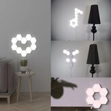 LED Wall Light Hexagon White Ambient Lighting Touch Control Lighting System Room Lamp Home Decoration