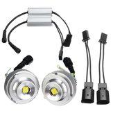 2 STÜCKE 20 Watt LED Angel Eyes Lichter Halo-ringlampe 45 cm Weiß für BMW E60 528i 535i LCI