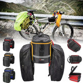 BIKIGHT Bike Bicycle Luggage Bag Large Capacity Scalable Waterproof Cycling Pannier Rear Bag