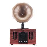 Przenośny kształt gramofonu Bezprzewodowy głośnik Bluetooth Obsługa karty TF AUX U-Disk