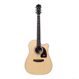 Morgan N1-DC / N1-GC A-class Sitika Plywood Acoustic 41-inch Folk Guitar Beginner Novice Entry Guitar Male and Female Students Self-learning Musical Instruments