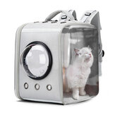 Pet Carrier Bag Breathable Astronaut Space Backpack Puppy Cat Cage Transport Bag Capsule Space