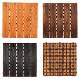 30x30cm DIY Wood Patio Interlocking Flooring Decking Tile Indoor Outdoor Garden Floor Decorations