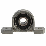 5Pcs 8mm Bore Diameter Pillow Block Mounted Ball Bearing KP08 Zinc Alloy