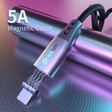 WSKEN Shark X5 Magnetisches Datenkabel USB Type C Magnetladekern Für iPhone XS 11Pro Mi10 Note 9S S20 + Note 20